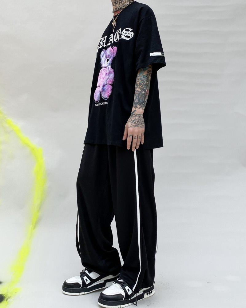 《3色》CHAOSファンタジーモコモコクマTシャツの画像4